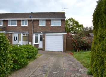 Thumbnail 3 bed end terrace house to rent in Wear Road, Worthing