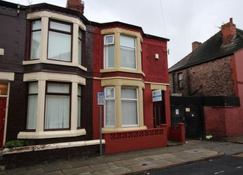 Thumbnail 3 bed end terrace house to rent in Armley Road, Anfield