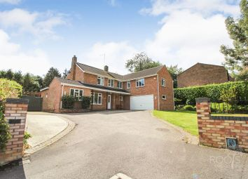 Thumbnail 5 bed detached house for sale in Cheriton Close, Newbury