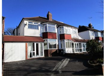 Thumbnail 3 bedroom semi-detached house for sale in Painswick Road, Birmingham