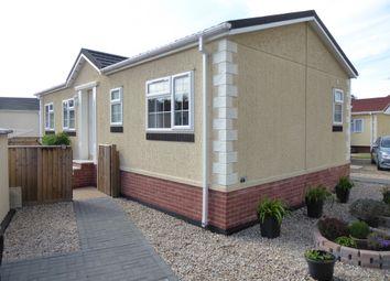 Thumbnail 2 bed mobile/park home for sale in Star Meadow Park, Oak Street, Fakenham, Norfolk