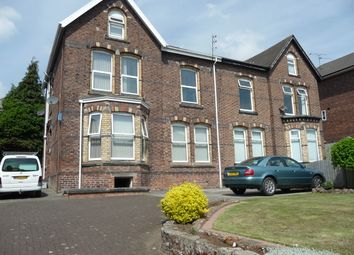 Thumbnail 1 bed flat to rent in Woodland Road, Bebington Wirral