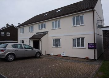 Thumbnail 2 bed flat for sale in Easterdown Close, Plymouth
