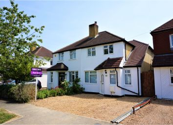 Thumbnail 4 bed semi-detached house for sale in Oakway, Woking