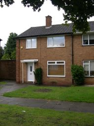 Thumbnail 3 bed end terrace house to rent in Caldwell Grove, Solihull