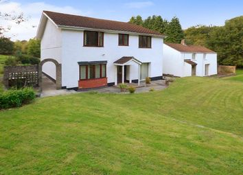 Thumbnail 4 bed detached house for sale in Heathfield, Tredegar