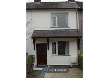 Thumbnail 2 bed terraced house to rent in Montrose Terrace, Wrexham