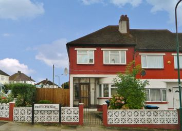 Thumbnail 3 bed end terrace house to rent in Perth Avenue, Kingsbury