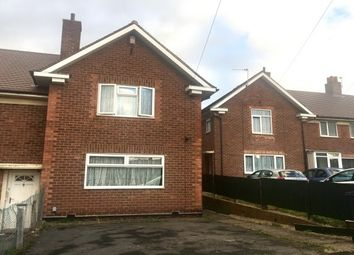 Thumbnail 3 bed property to rent in Honiley Road, Kitts Green, Birmingham