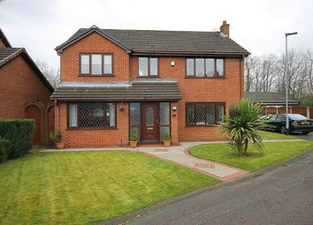 Thumbnail 4 bed detached house for sale in Nares Close, Old Hall, Warrington