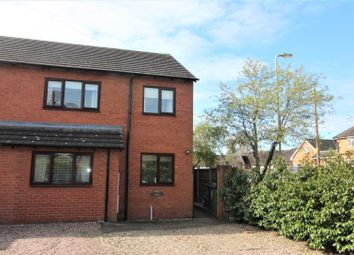 Thumbnail 3 bed semi-detached house to rent in Aston Road, Wem, Shrewsbury