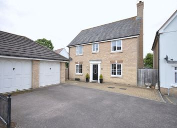 Thumbnail 4 bed detached house for sale in Wilkin Drive, Tiptree, Colchester