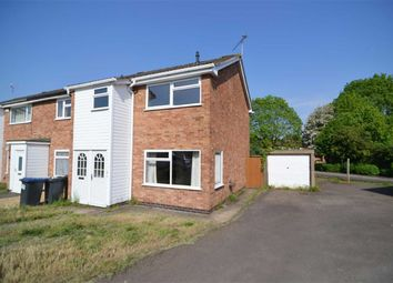 Thumbnail 3 bed town house for sale in Cufflin Close, Ratby, Leicester