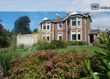 Thumbnail 8 bed property for sale in Perth Road, Crieff
