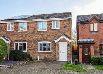 Thumbnail 2 bed semi-detached house for sale in Bryans Way, Littleworth, Cannock