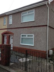 Thumbnail 3 bedroom terraced house to rent in Ramsey Road, Clydach, Swansea.