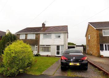 Thumbnail 3 bed semi-detached house for sale in Kensington Drive, Cefn Glas, Bridgend.