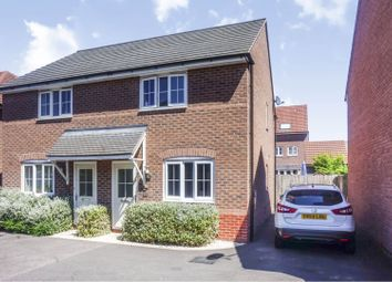 Thumbnail 2 bed semi-detached house for sale in Tacitus Way, North Hykeham, Lincoln