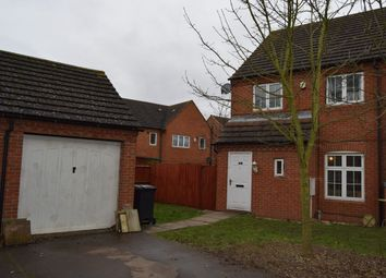 Thumbnail 3 bedroom semi-detached house for sale in Harrowden Rise, Rowlatts Hill, Leicester