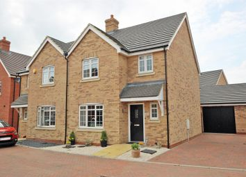 Thumbnail 3 bed semi-detached house for sale in Key Croft, Shortstown, Bedford