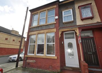 Thumbnail 3 bed end terrace house for sale in Seabank Avenue, Wallasey