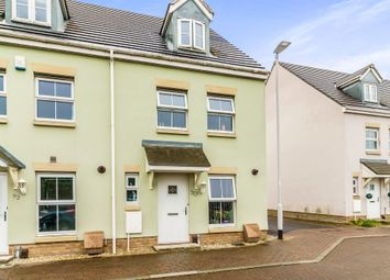 Thumbnail 3 bed end terrace house for sale in Junction Gardens, Plymouth