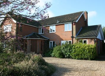Thumbnail 4 bed detached house for sale in Church Road, Tasburgh, Norwich