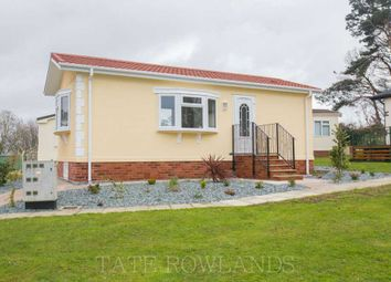 Thumbnail 1 bed mobile/park home for sale in The Vicarage, Coast Road, Ffynnongroyw