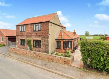 Thumbnail 3 bed detached house for sale in Nafferton Road, Wansford, Driffield