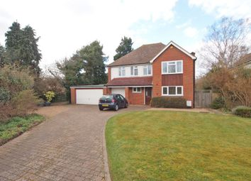Thumbnail 4 bed detached house for sale in Cleves Avenue, Ewell