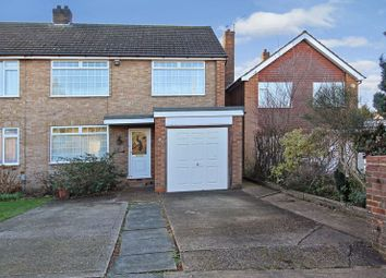 Thumbnail 4 bed semi-detached house for sale in Chatteris Close, Leagrave, Luton