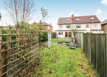 Thumbnail 4 bed semi-detached house for sale in Lyndhurst Grove, Chaddesden, Derby
