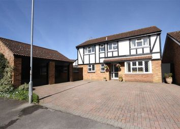 Thumbnail 4 bed detached house for sale in Monks Way, Chippenham, Wiltshire