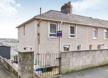 Thumbnail 3 bed end terrace house for sale in Hill Top Road, Whitehaven
