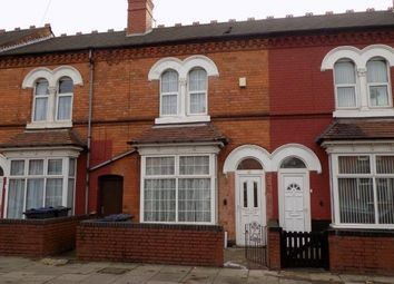 Thumbnail 3 bedroom terraced house for sale in Leyton Road, Handsworth, Birmingham