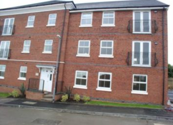 Thumbnail 2 bed flat to rent in Sanderman House, Woodville, Swadlincote