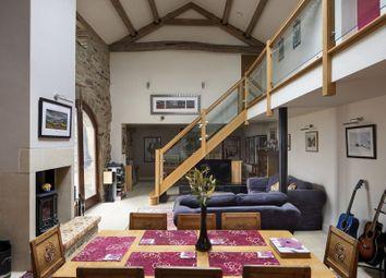 Thumbnail 5 bed farmhouse for sale in Heath Farm, Slaithwaite, Huddersfield