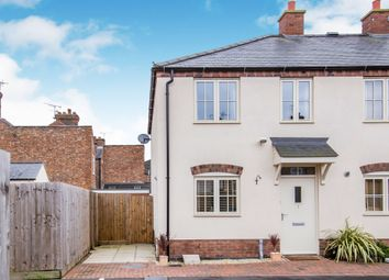 Thumbnail Town house for sale in Canal Street, Wigston, Leicester