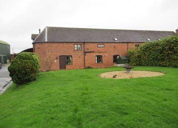 Thumbnail 4 bed barn conversion for sale in Shawbury, Shrewsbury