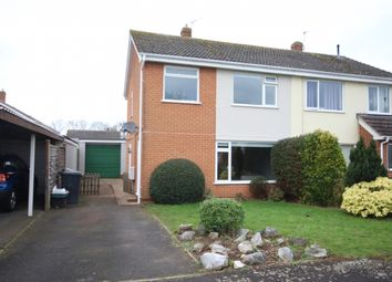 Thumbnail 3 bed semi-detached house for sale in Belmont Close, Bridgwater