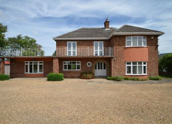 Thumbnail 4 bed detached house for sale in Outwell Road, Elm, Wisbech
