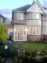 Thumbnail 3 bed semi-detached house to rent in Stuarts Road, Stechford, Birmingham
