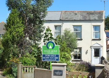 Thumbnail 2 bed semi-detached house for sale in Salcombe Road, Sidmouth