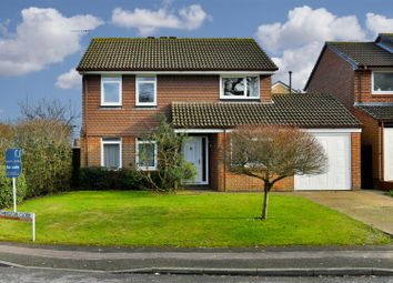 Thumbnail 4 bed detached house for sale in Chepstow Close, Worth, Crawley