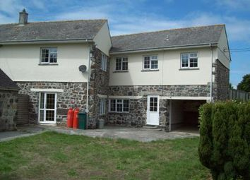 Thumbnail 3 bed farmhouse for sale in Ruan Minor, Helston