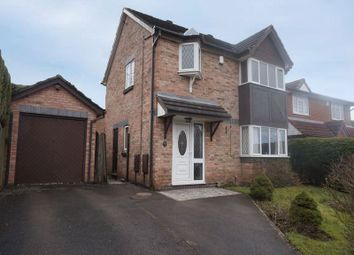 Thumbnail 3 bed detached house for sale in Fairlawn Close, Lightwood, Stoke-On-Trent
