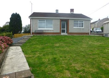 Thumbnail 2 bed detached bungalow to rent in Walter Road, Ammanford, Carmarthenshire.