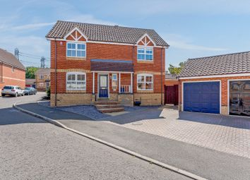 Thumbnail 4 bed detached house for sale in Heron Gardens, Essex, Rayleigh