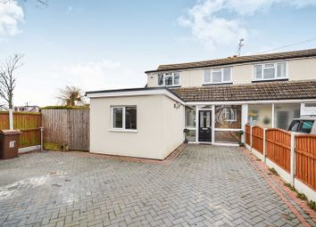 Thumbnail 3 bed semi-detached house to rent in Fen Close, Bulphan, Upminster