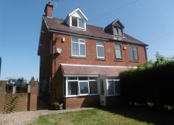 Thumbnail 4 bed semi-detached house for sale in Old Trent Road, Beckingham, Doncaster